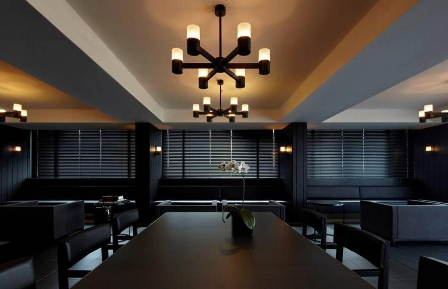 Интерьер отеля Burbury Hotel от Katon Redgen Mathieson