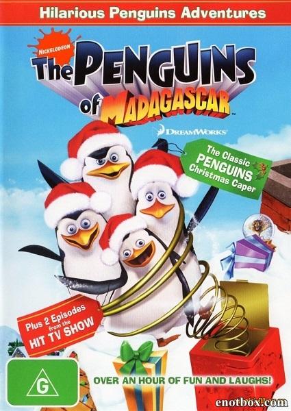 Пингвины из Мадагаскара / The Madagascar Penguins in a Christmas Caper (2005/BDRip/HDRip)