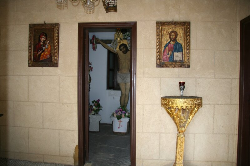 Часовня на Голгофе в Филеримском монастыре