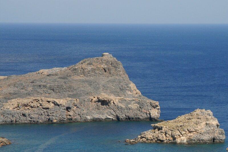 Скалистый мыс и остров