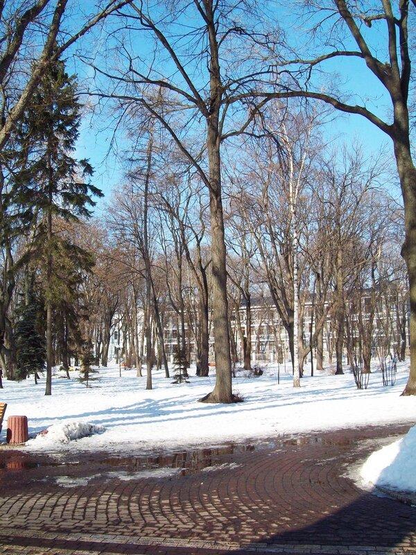 Март в Мариинском парке