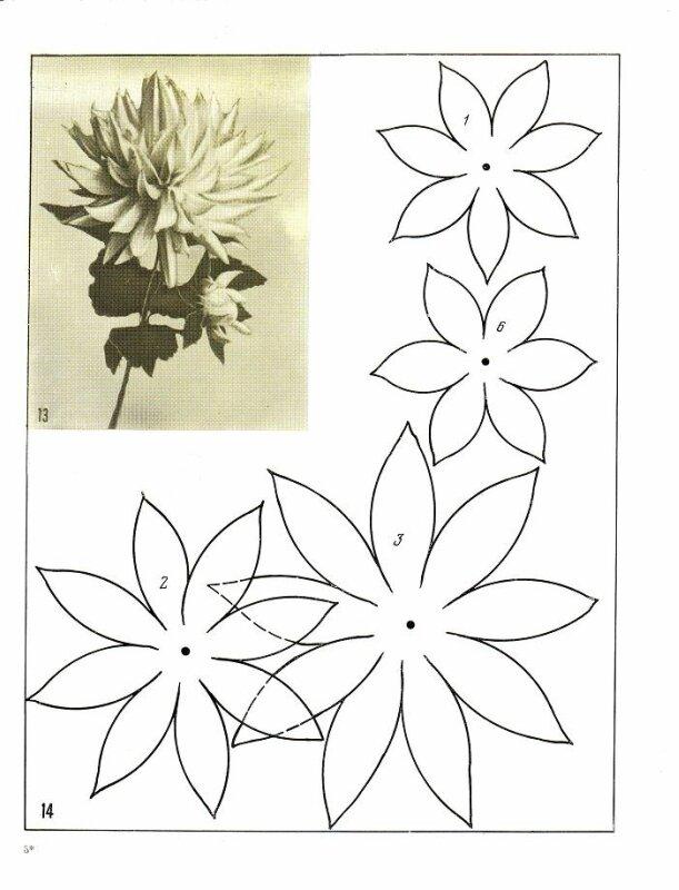 Изготовление цветов из ткани своими руками мастер