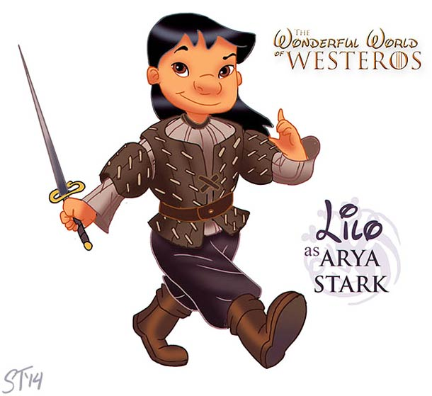 Les princesses Disney s'invitent dans Game Of Thrones