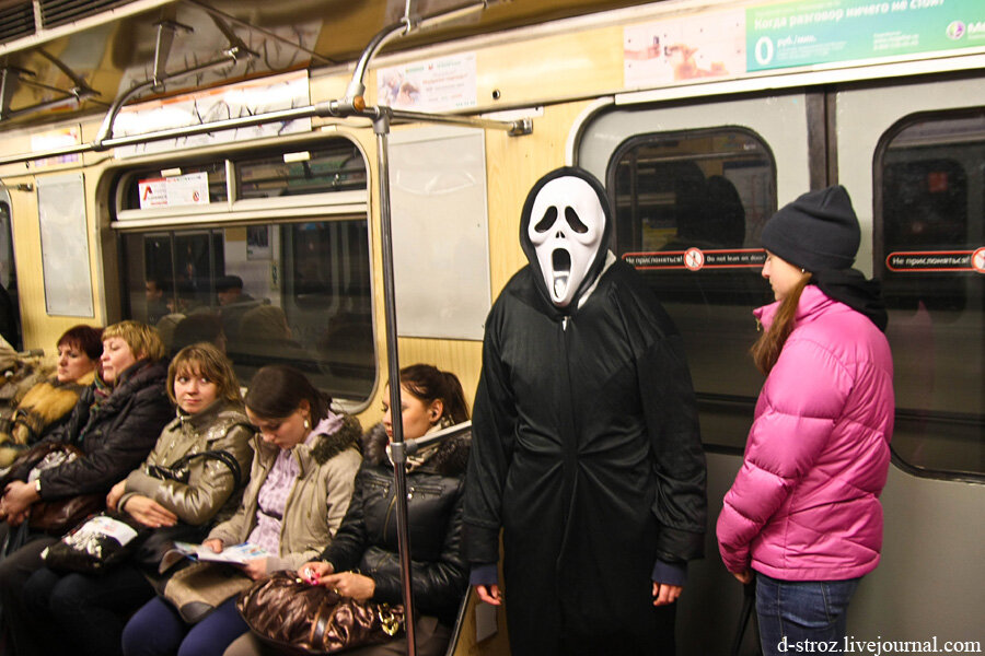 смерть в метро