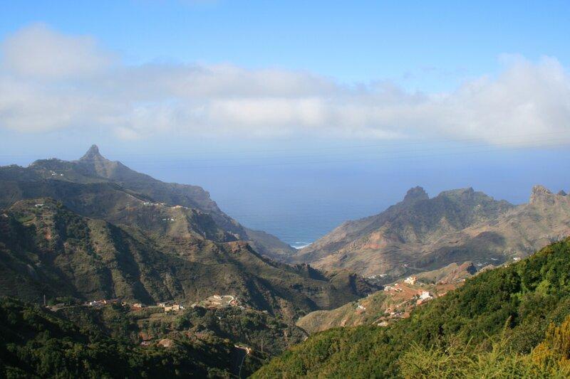 Тенерифе, горы Анага