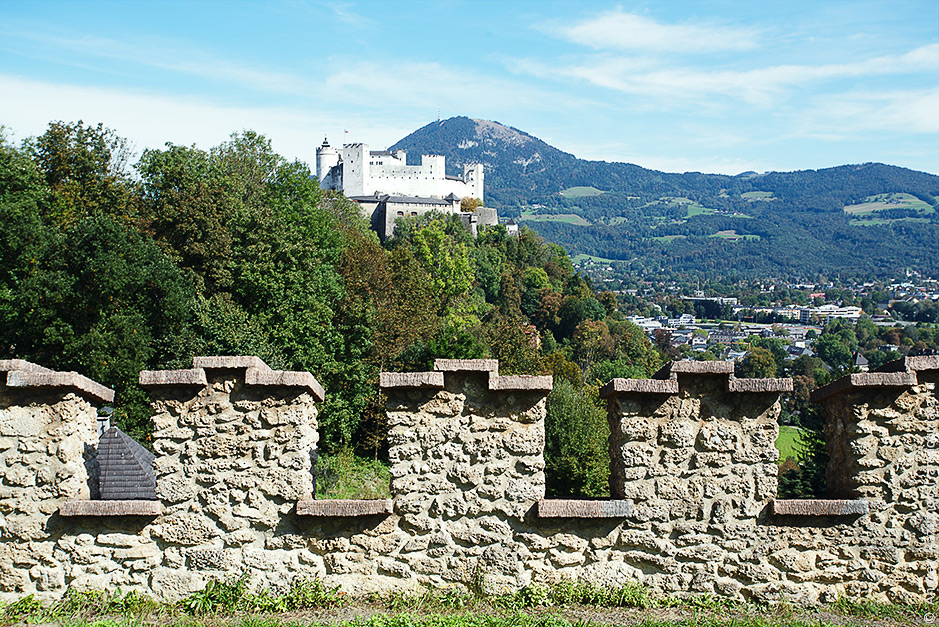 что посмотреть в Зальцбурге Гора Капуцинерберг