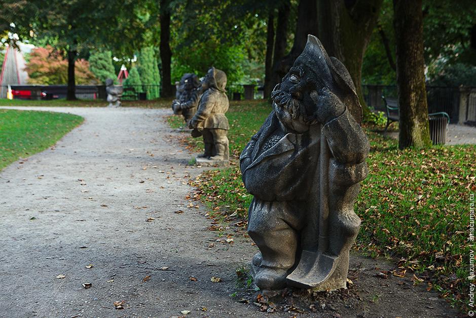 что посмотреть в Зальцбурге за один день Сад гномов