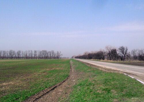 Дорога в посёлок Ахтарский