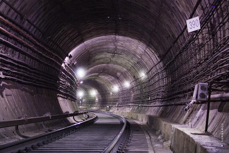 В лабиринтах метро: режимный Питер. Фоторепортаж. Ридус
