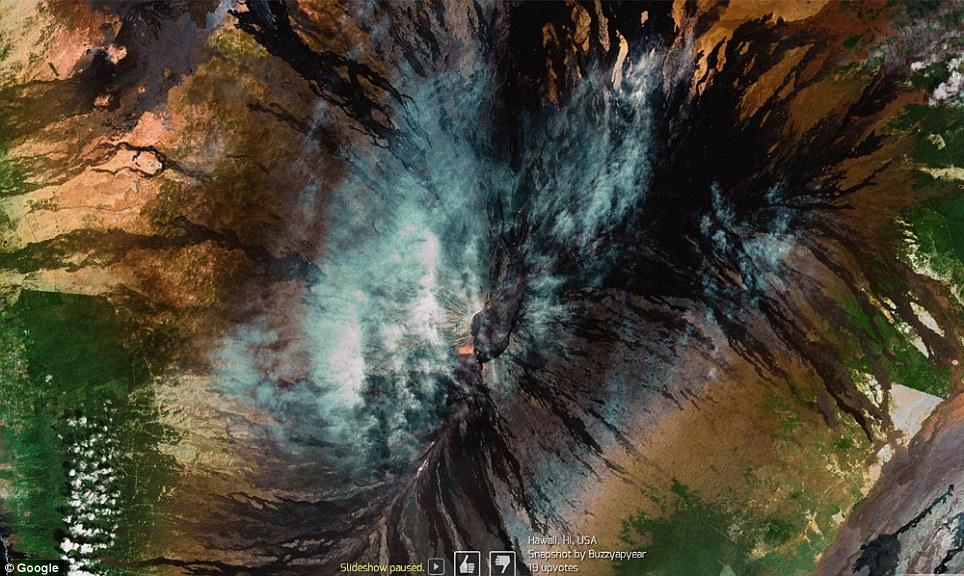 10 самых впечатляющих снимков Земли от Google Earth