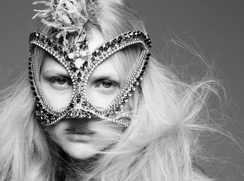 модель Энн Софи Монрад / Anne Sophie Monrad, фотограф Nagi Sakai