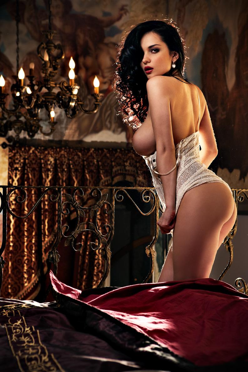 Katie Fey / Jenya D / Евгения Диордийчук в Playboy Украина, апрель 2012