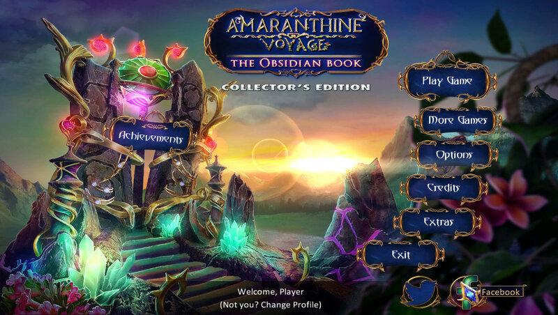 Amaranthine Voyage: The Obsidian Book CE