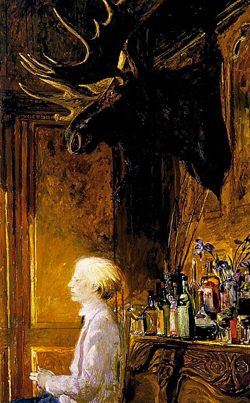 Lunch At The Factory, by James Wyeth