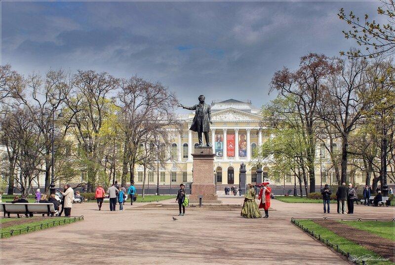 Прогулки по Петербургу_Площадь искусств.