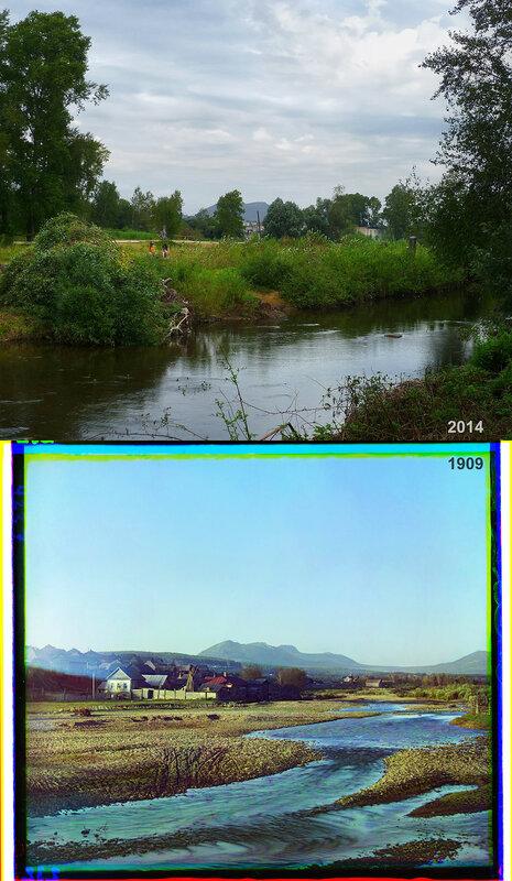Селение Ветлуга. Река Тесьма.