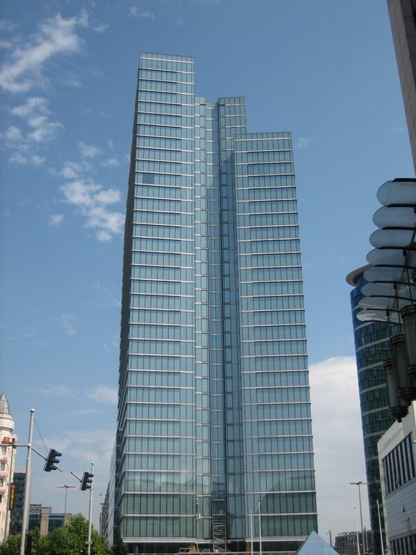 Dexia Tower. Брюссель