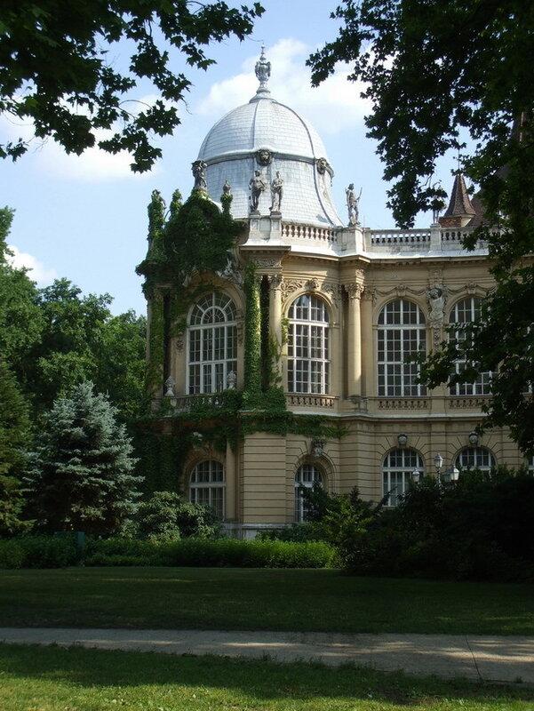 Замок Вайдахуняд. Будапешт
