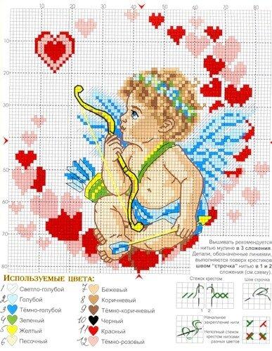 Если же возникла...  25 вышивок для малышей.  Вышивка крестом, схемы. источник.  Прочитать целикомВ.