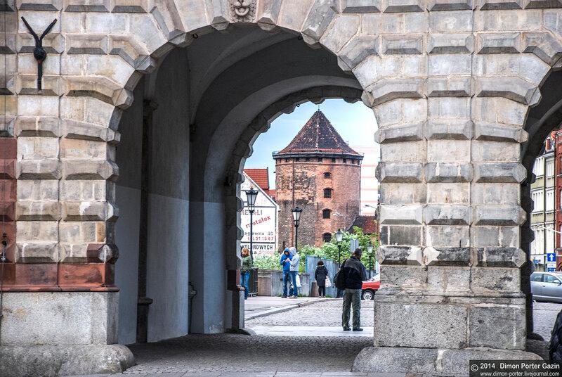 Гданьск. Молочные ворота
