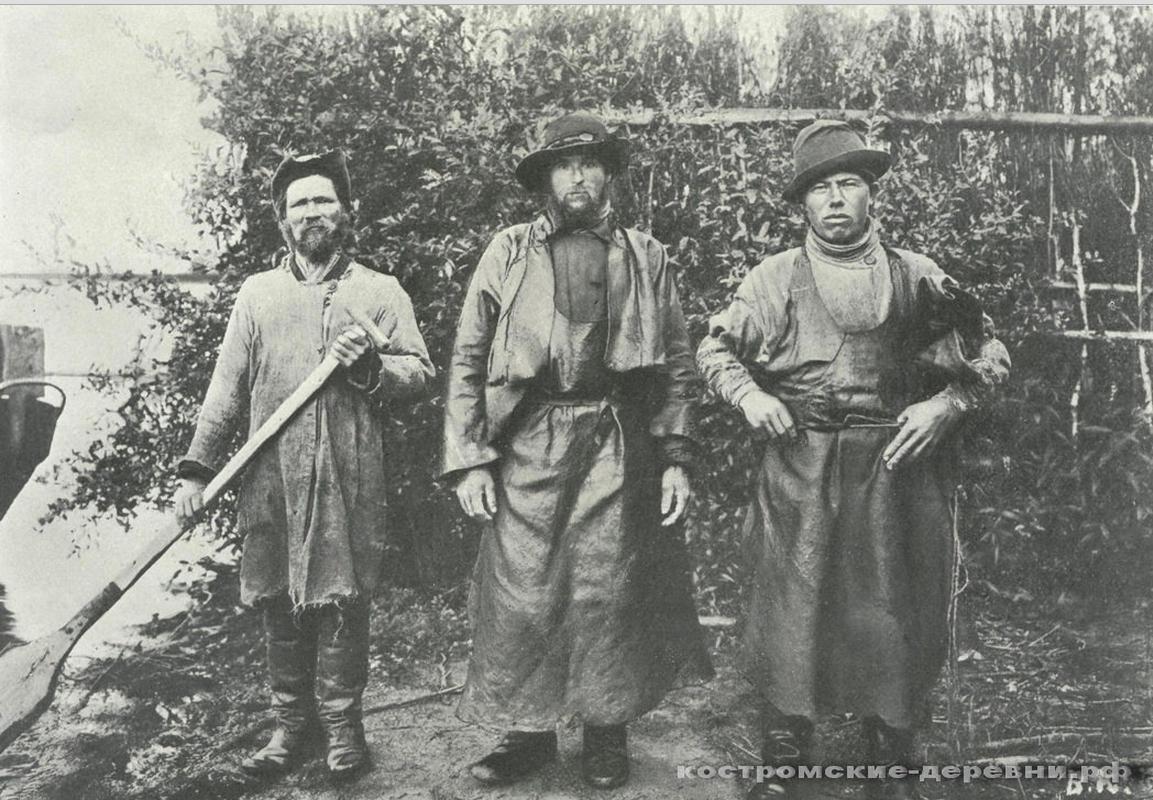Галичские рыбаки