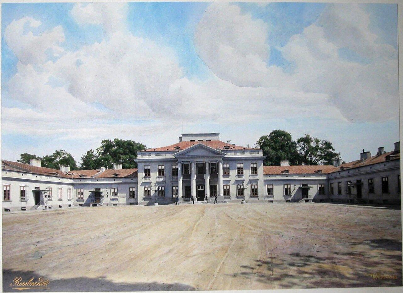 Вид здания Бельведерского дворца