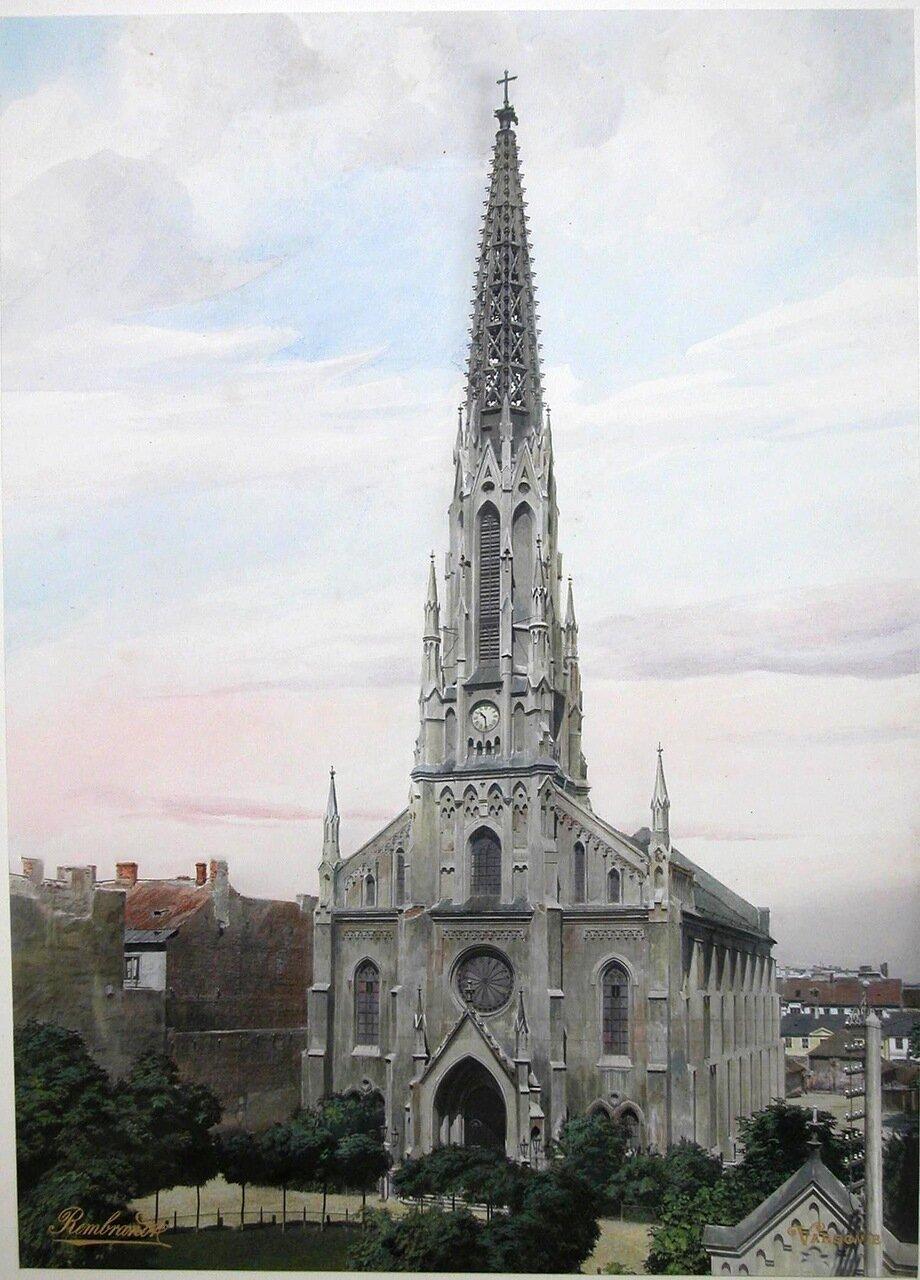 Вид здания Лютеранской кирхи