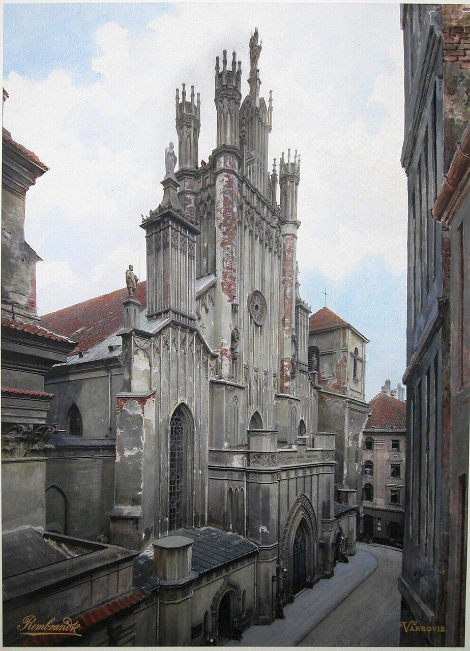 Вид кафедрального костела св. Иоанна