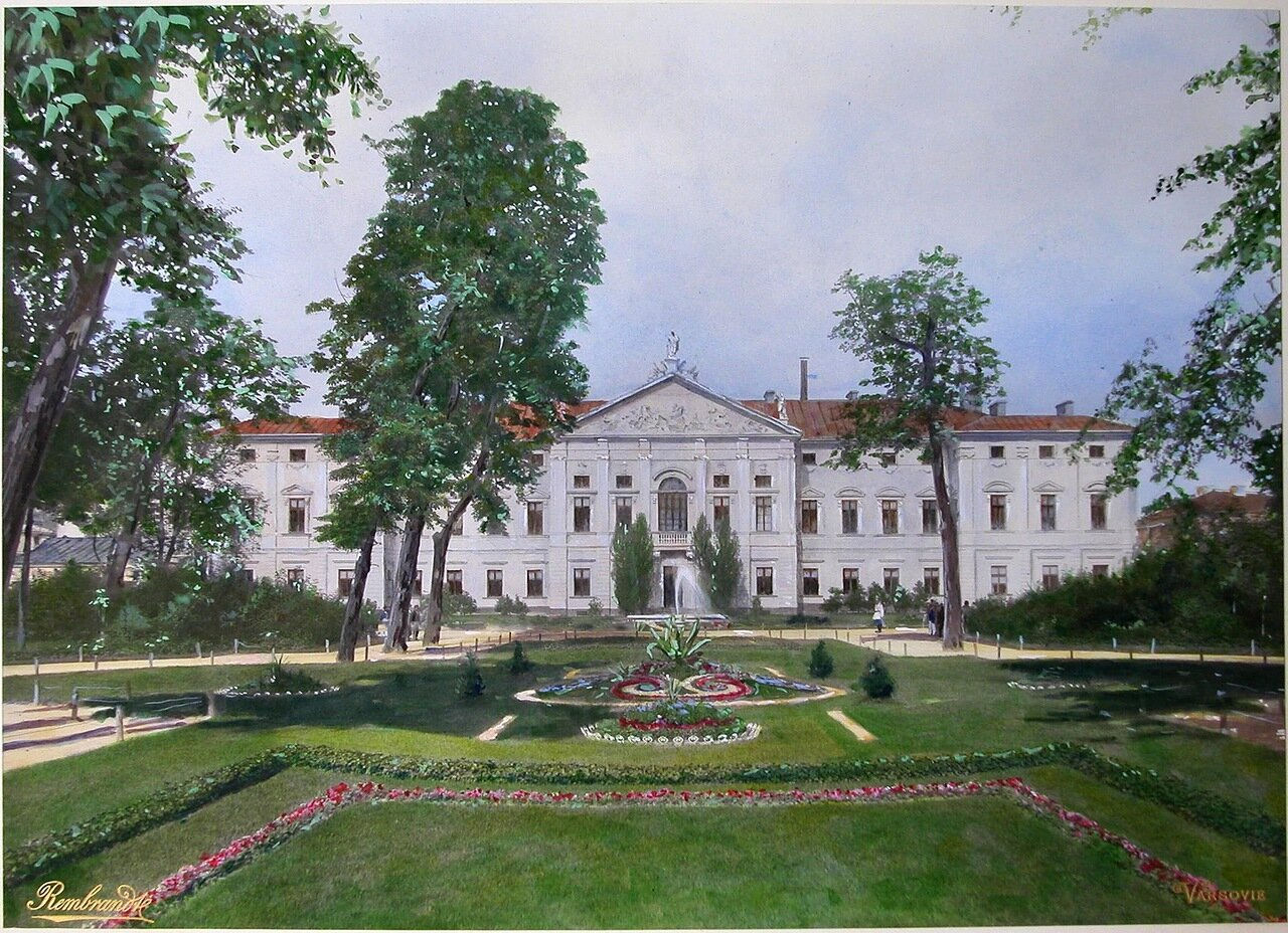 Вид на здание Судебной палаты