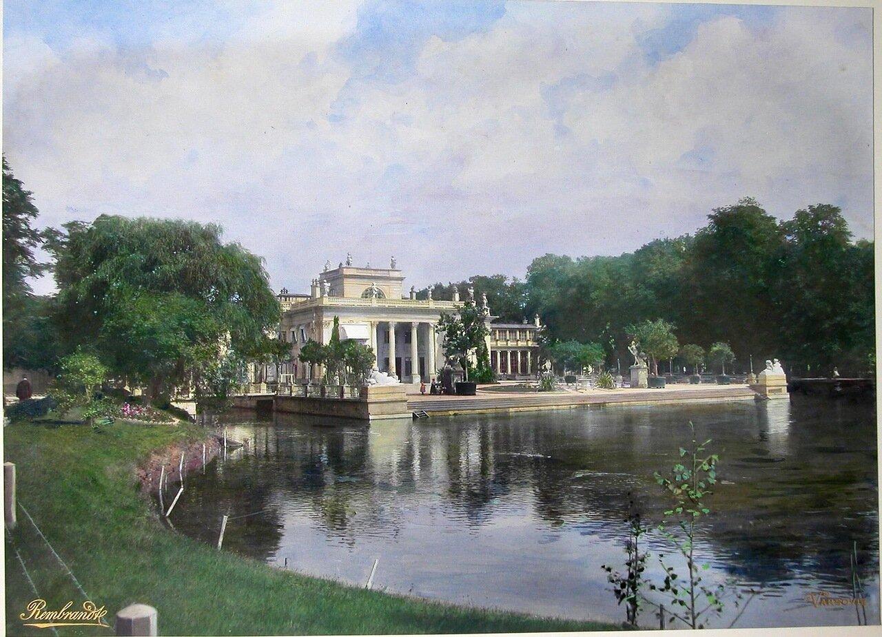 Вид на Лазенковский дворец