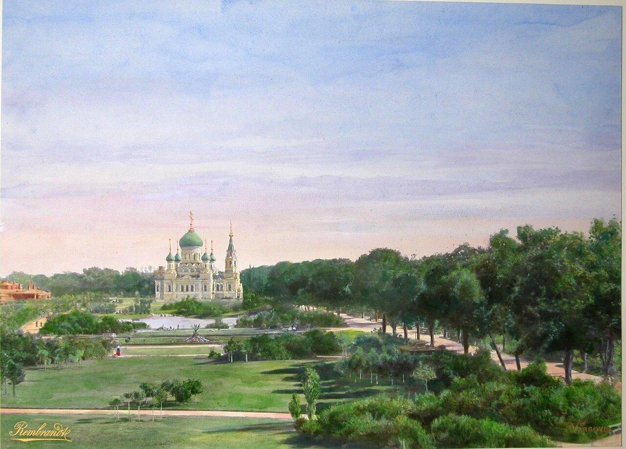 Вид Уяздовского парка
