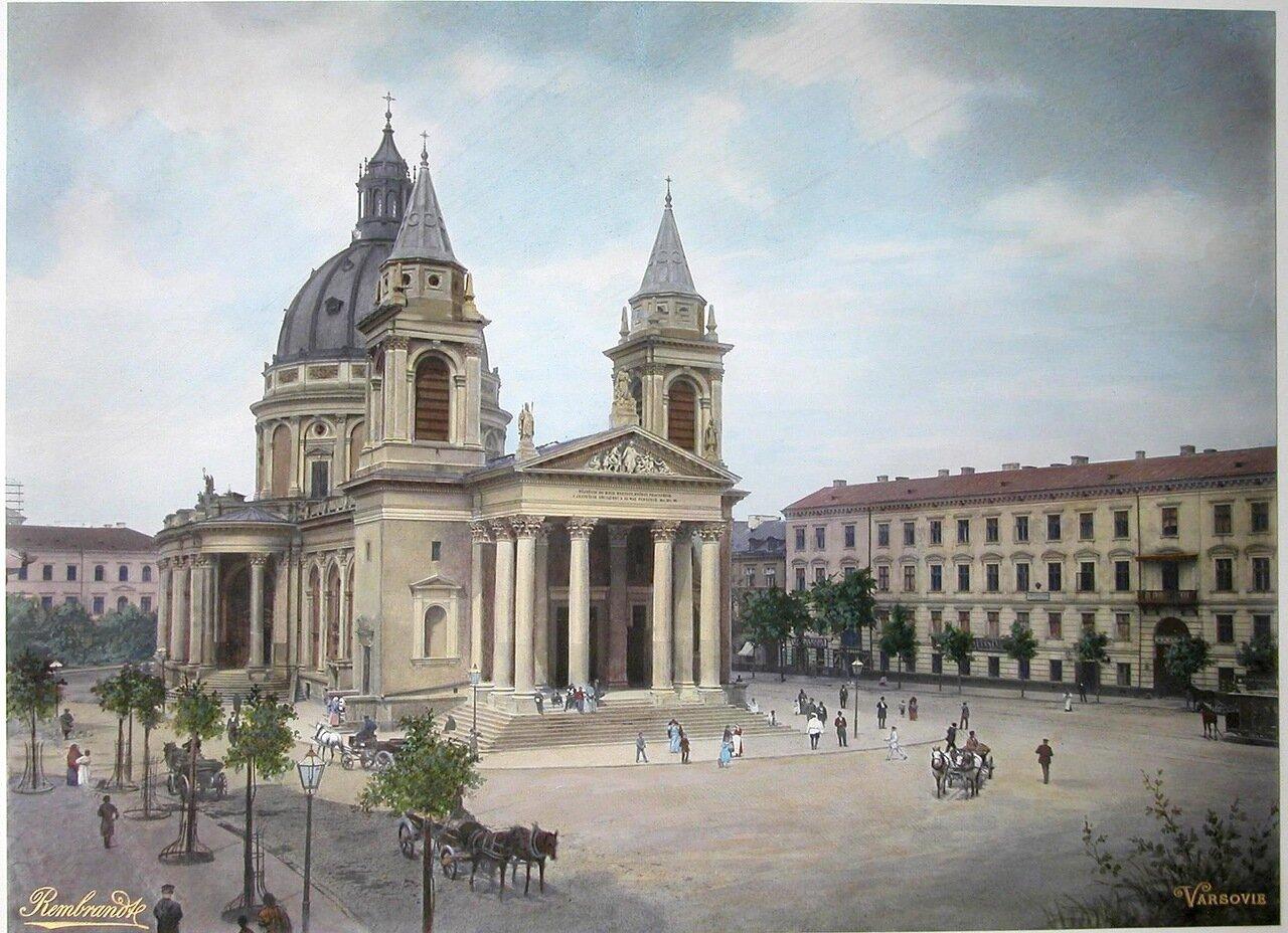 Вид части площади святого Александра