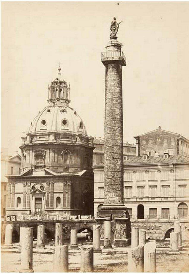 Колонна Траяна. 1858