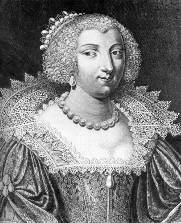 Jean Le Blond. Мария Эме де Роган-Монбазон, герцогиня де Шеврез   (1600--1679)    Marie de Rohan-Montbazon, Duchesse de Chevreuse