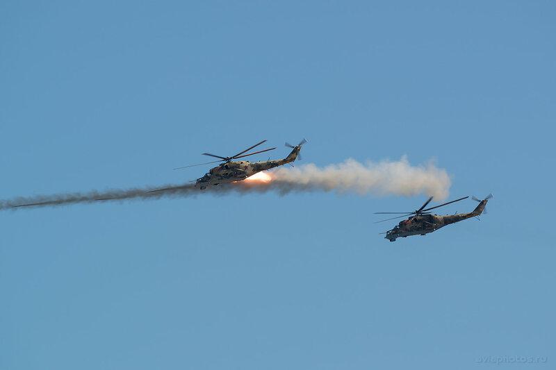 Миль Ми-24П (RF-93545 / 09 красный) ВКС России 1190_D806419