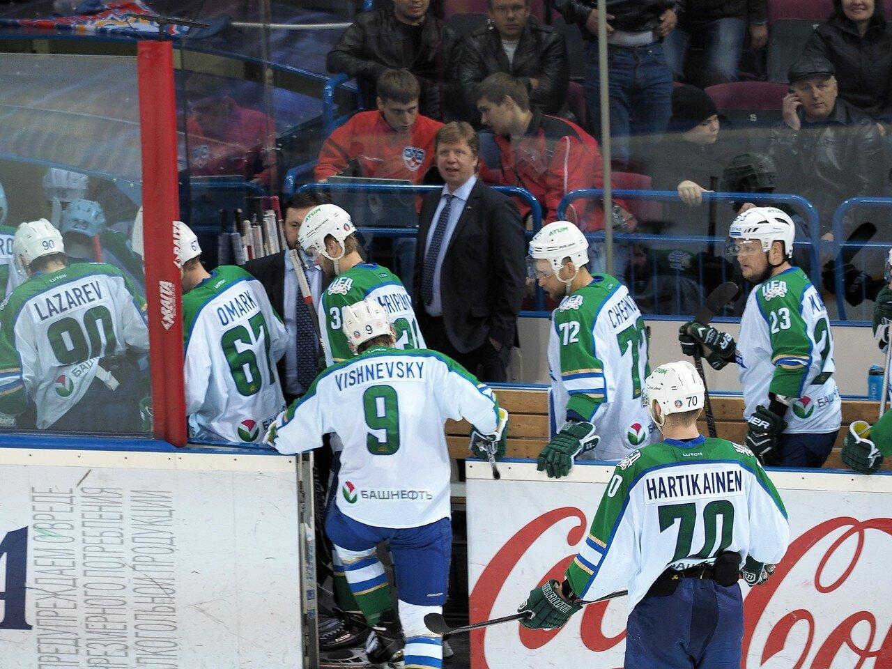77Плей-офф 2016 Восток Финал Металлург - Салават Юлаев 31.03.2016