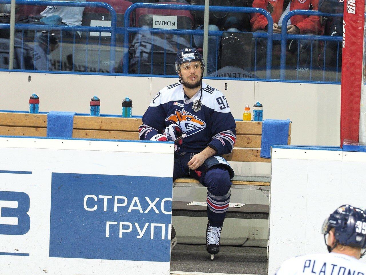 8Плей-офф 2016 Финал Металлург - ЦСКА 11.04.2016