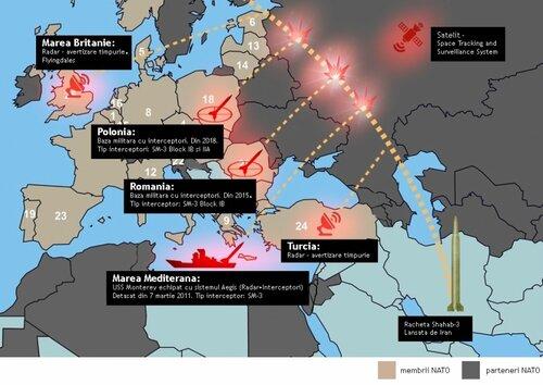 Натовские ракеты в Румынии нацелены на территорию Молдовы