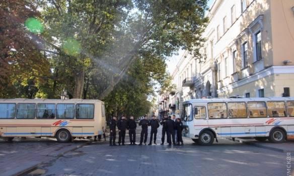 В Одессе после марша ЛГБТ начались столкновения. ФОТОрепортаж