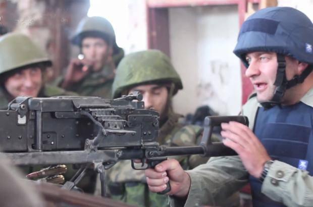 Очередным трофеем украинских бойцов стал пулемет актера Пореченкова, - спикер АТО