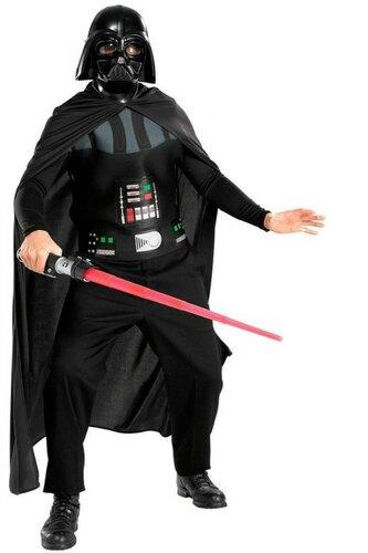 Мужской карнавальный костюм Дарт Вейдер. Э́накин Скайуо́кер (Anakin Skywalker), после перехода на тёмную сторону Силы Дарт Ве́йдер (Darth Vader) — центральный персонаж Вселенной «Звёздных войн», главный антагонист киноэпопеи «Звёздные войны»
