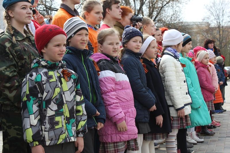 Тверь встретила всероссийский автопробег ко Дню Победы