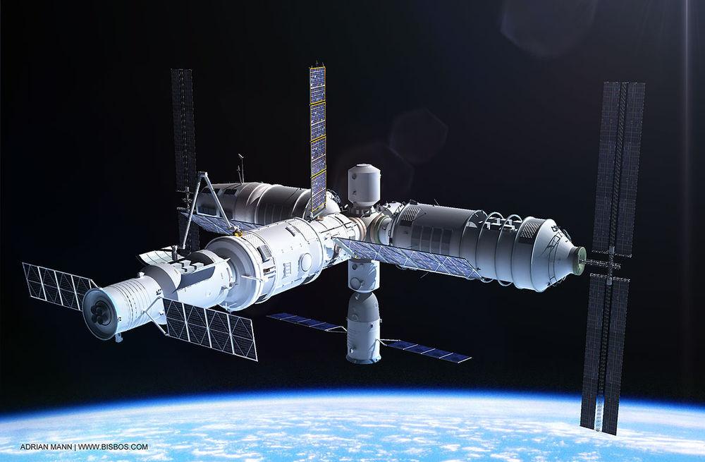 Запуск новой китайской орбитальной станции перенесен на 2020 год