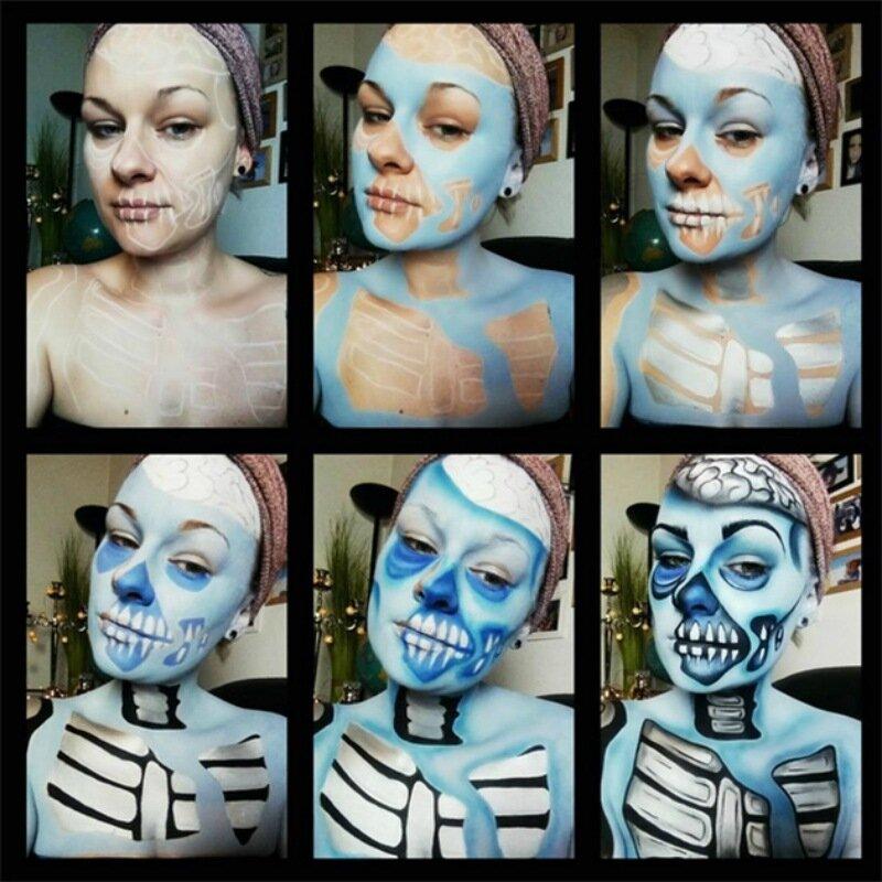 Просто хоррор! Страшные оптические иллюзии художницы Instagram