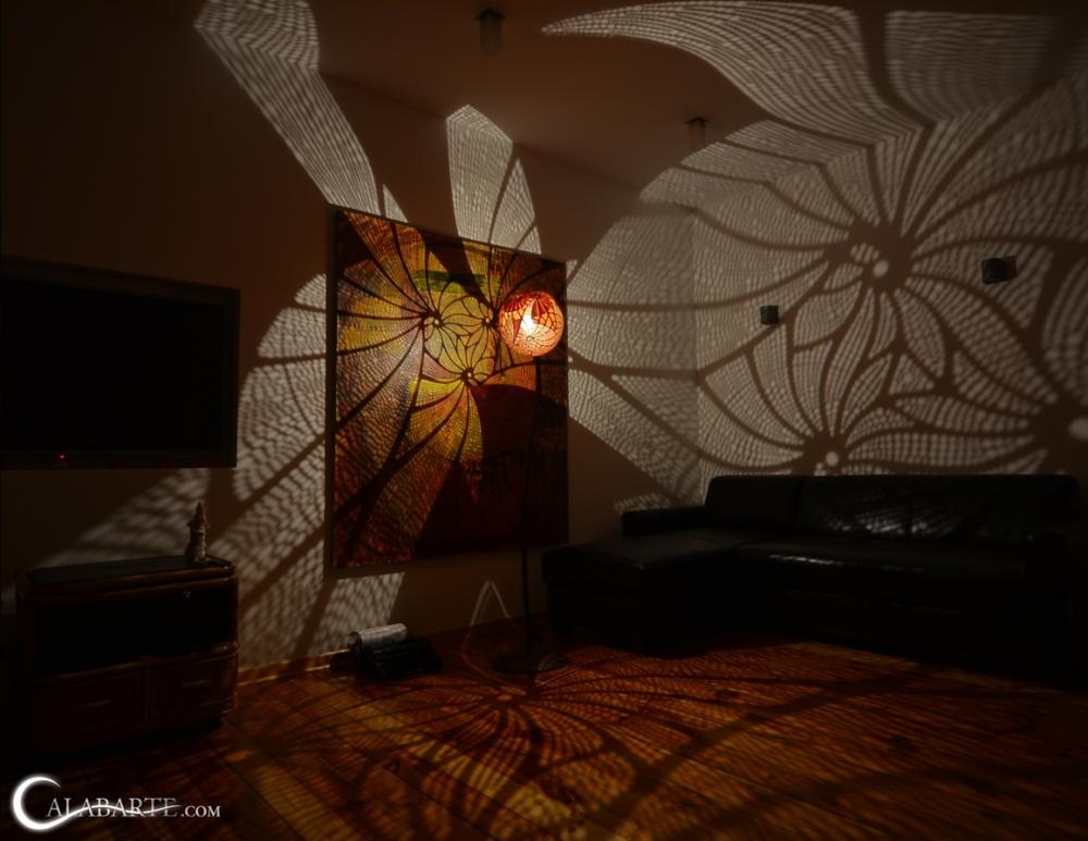 Стоит включить эту лампу, иобычный дом превратится всказочный дворец