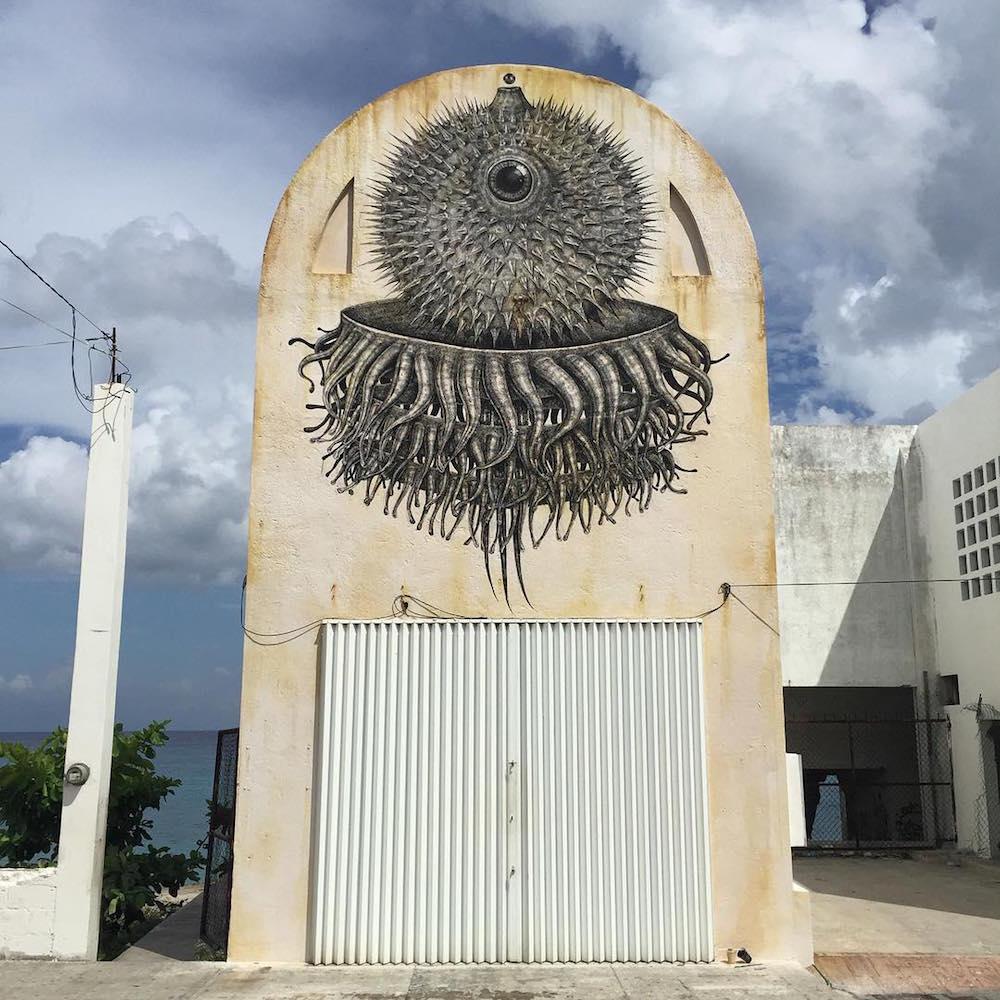 Эзотерический стрит-арт Alexis Diaz
