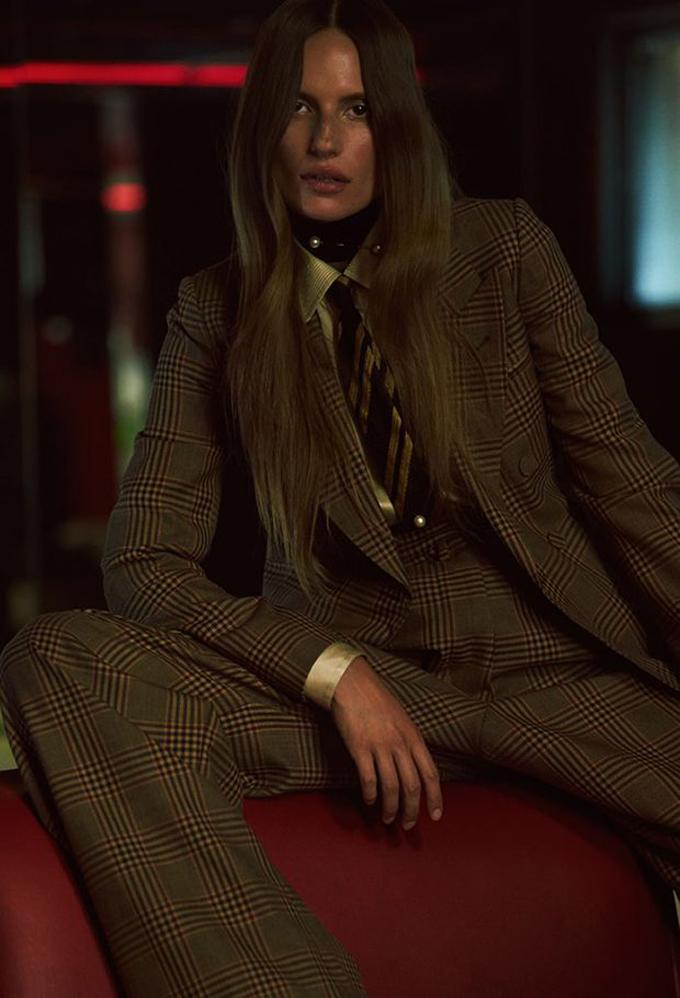 Кейт Андервуд на страницах Vogue