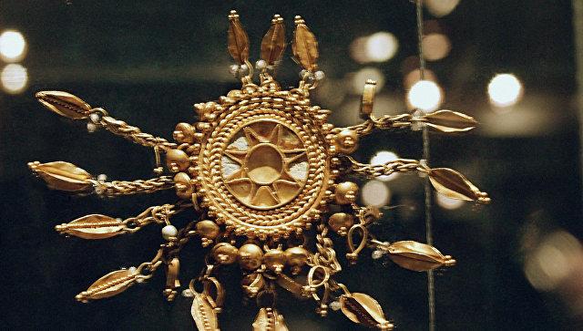 Крымские музеи обжалуют решение опередаче Украине «скифского золота»