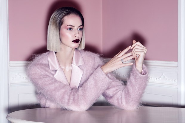 Pink Room story captured by fashion and beauty photographer Piotr Stoklosa at Warsaw Creatives for V