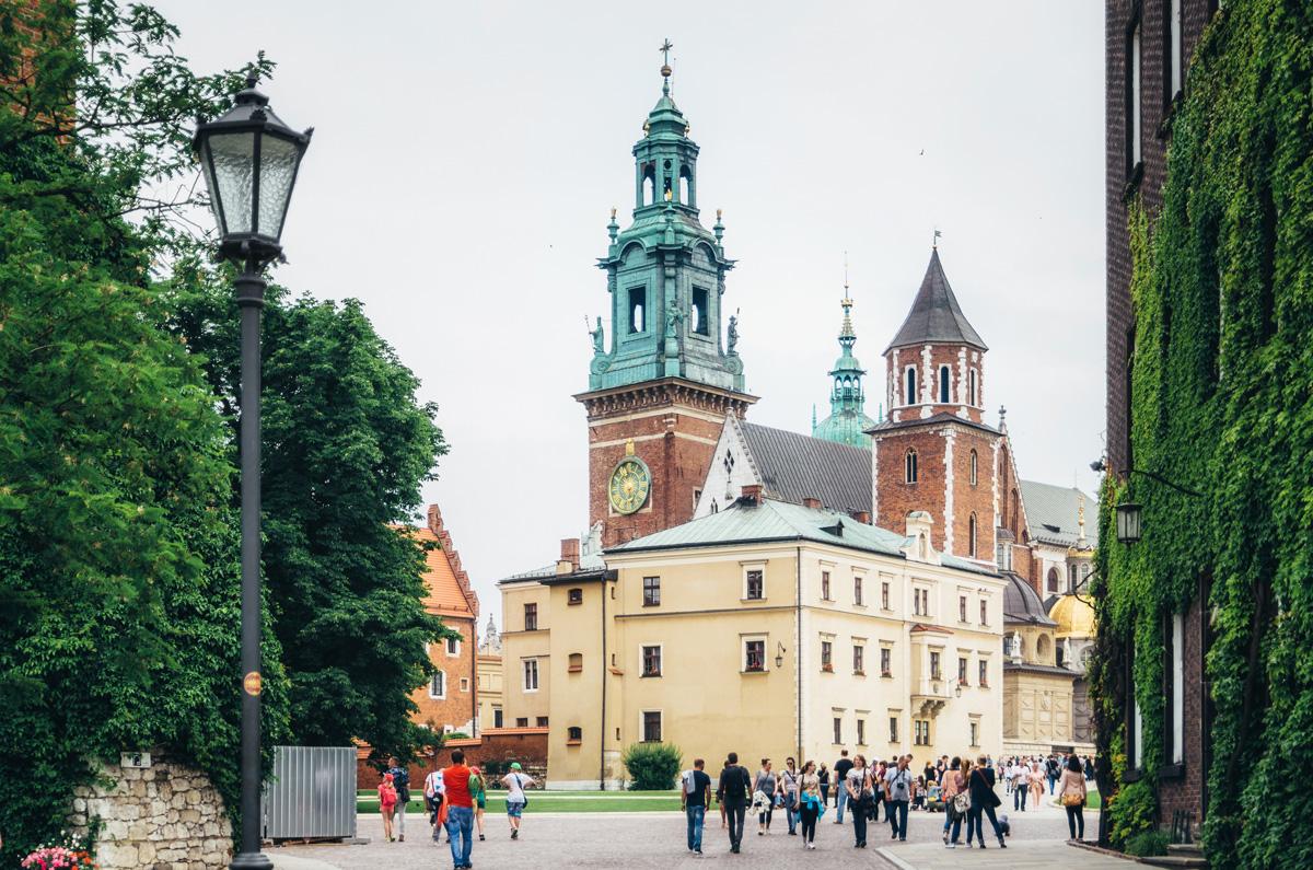 Вавель, замок в Кракове, Польша